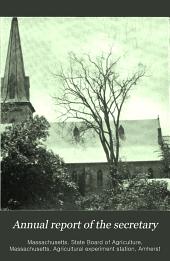 Annual Report of the Secretary: Volume 49, Part 1901