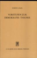 Vorstufen zur Demokratie Theorie PDF