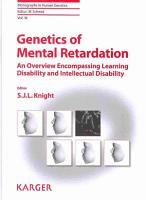 Genetics of Mental Retardation PDF