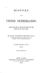 History of the United Netherlands: 1600-1609