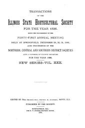 Transactions of the Illinois State Horticultural Society: Volume 30