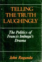 Telling the Truth Laughingly PDF
