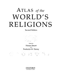 Atlas of the World s Religions Book
