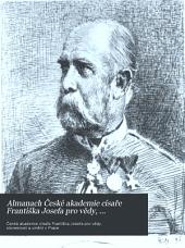 Almanach České akademie císaře Františka Josefa pro vědy, slovesnost a umění: Svazek 7