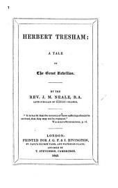 Herbert Tresham. A tale of the Great Rebellion