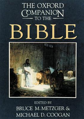 The Oxford Companion to the Bible PDF