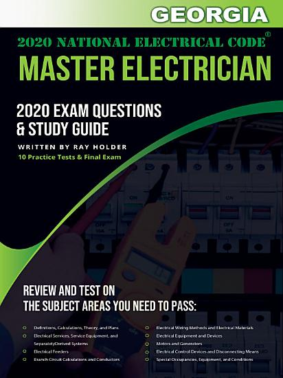 Georgia 2020 Master Electrician Exam Questions and Study Guide PDF