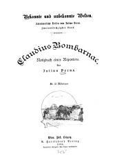 Claudius Bombarnac: Notizbuch eines Reporters