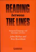 Reading between the lines   integrated language and literature activities  Student s book PDF