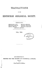Transactions of the Edinburgh Geological Society: Volume 8