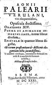 Opuscula doctissima: Add. est locuples index