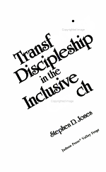 Transforming Discipleship in the Inclusive Church