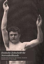 Deutsche Zeitschrift für Nervenheilkunde: Band 28