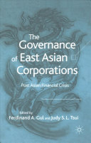 The Governance of East Asian Corporations PDF