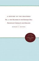 A History of the Oratorio PDF