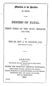 First Steps of the Zulu Mission (October 1859)