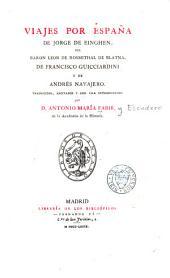 Viajes por España de Jorge de Einghen: Volumen 8