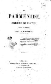 Le Parménide dialogue de Platon