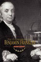 Autobiography of Benjamin Franklin PDF