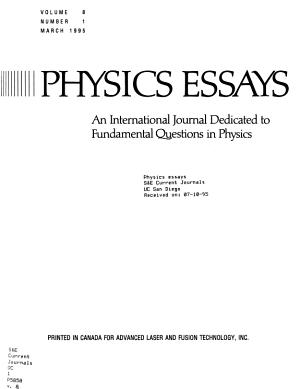Physics Essays