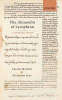 The Alexandra of Lycophron PDF