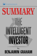 Summary of The Intelligent Investor PDF