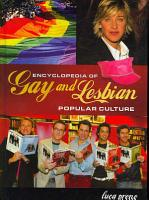Encyclopedia of Gay and Lesbian Popular Culture PDF