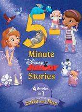 5-Minute Disney Junior Stories Starring Sofia and Doc: 4 books in 1