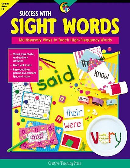 Success with Sight Words  eBook PDF