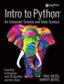 Introduction to Python for the Computer and Data Sciences