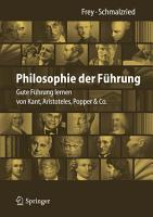 Philosophie der F  hrung PDF