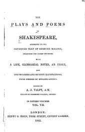 The Plays and Poems of Shakespeare: Henry IV, pt.1-2. Henry V