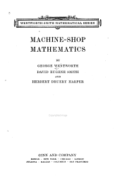 Machine-shop Mathematics