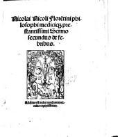 De medica materia VII sermonum liber: Volume 2