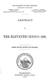 Abstract of the Eleventh Census, 1890