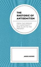 The Rhetoric of Antisemitism PDF