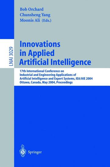 Innovations in Applied Artificial Intelligence PDF
