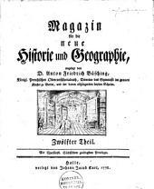 Magazin für die neue Historie und Geographie: Band 12