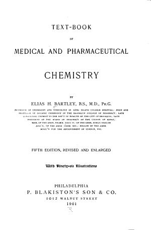 Text book of Medical and Pharmaceutical Chemistry PDF