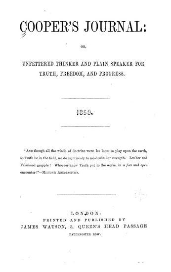 Cooper s Journal PDF