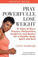 Pray Powerfully  Lose Weight