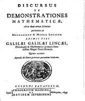 Discursus et demonstrationes mathematicae
