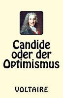 Candide Oder Der Optimismus PDF
