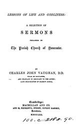 Lessons of life and godliness  sermons PDF