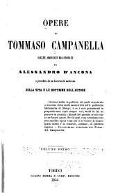 Opere di Tommaso Campanella scelte