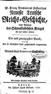 Neuste Teutsche Reichs-Geschichte