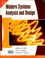 Modern Systems Analysis and Design  6 e PDF
