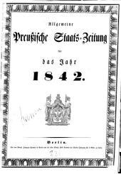 Allgemeine preußische Staats-Zeitung: 1842, 1 - 6