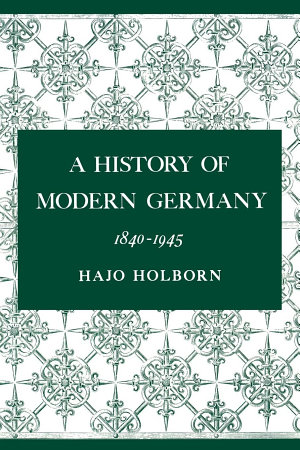 A History of Modern Germany