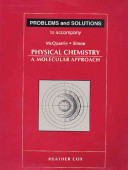 Problems and Solutions to Accompany McQuarrie and Simon  Physical Chemistry  a Molecular Approach PDF